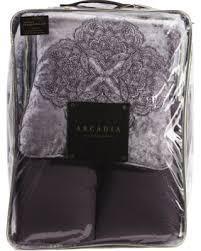 Purple Velvet Comforter Deal Alert Adeline Velvet Comforter Set