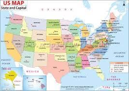 map usa states 50 states with cities us map shows the 50 states boundary their capital cities along