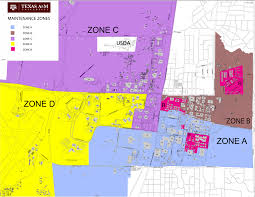 Zone Map Maintenance Zones Facilities Services