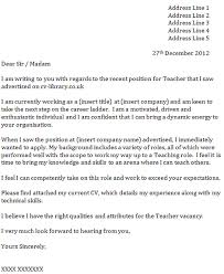 gallery of teaching assistant cover letter example icove teacher