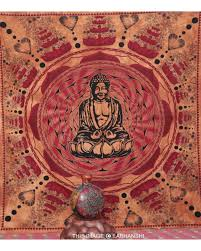 meditation buddha tapestry home decor wall hanging