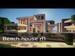 Modern Beach House Modern Beach House 2 Minecraft Project