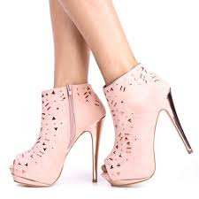 womens boots size 14 light pink peep toe boots for rhinestones ankle high