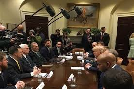 Blind Veterans Of America Paralyzed Veterans Of America Meets With President Trump Va