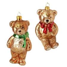 teddy decorations teddy christmas tree decorations collection on ebay