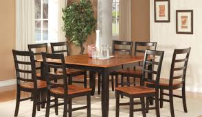 dining room gratify black dining table grey chairs dazzling