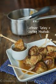 leftover turkey and meatballs