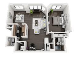 One Bedroom Open Floor Plans One Bedroom House Plans Beautiful House Plans With One Bedroom