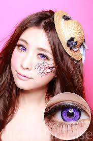 eos dolly eye violet circle lenses colored contacts 25 90