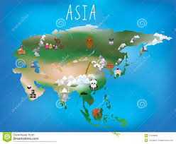 Countries In Asia Map by 15 Bucket List Goals