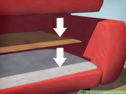 sagging sofa cushion support seat saver 4 ways to fix sagging sofa cushions wikihow