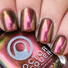 the head of the sky multichrome color shifting custom nail polish