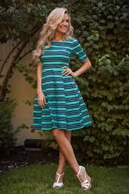 mint teal navy modest dress east basics trendy modest