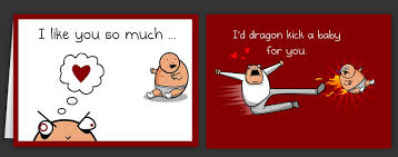 valentines cards horrible cards and s day cards by the oatmeal