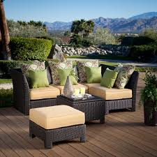Black Resin Patio Furniture Outdoor Outdoor Resin Wicker Sectional Patio Furniture Stirring
