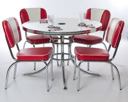 Retro Dining Room Red Retro Table And Chairs Retro Kitchen Tables And Chairs For