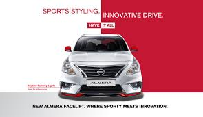 nissan almera now with led drls in m u0027sia all grades