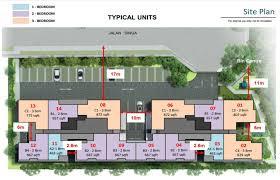 Site Floor Plan Singa Hills Kaki Bukit Near Mrt Freehold Only 13xx Psf