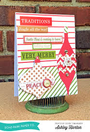 use our silhouette ornament shapes for your cards echo