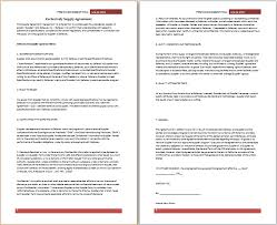 purchase agreements free agreement templates
