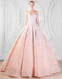 pink embroidered wedding dress vera wang chic wedding dresses and bridal gowns fashionspick com