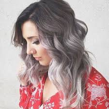 silver hair with lowlights 13 colors that make trying the grey hair trend easy