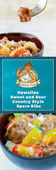 hawaiian sweet and sour country style spare ribs rachel the riveter