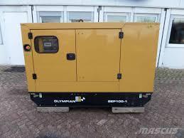 olympian gep100 1 diesel generators year of manufacture 2015