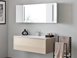 In Wall Bathroom Mirror Cabinets by Interior Wall Mounted Bathroom Cabinet Sliding Doors For