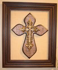 metal crosses wall decor shenra com diy cross wall decor the diy geek