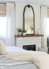 master bedroom fireplace makeover reveal sita montgomery interiors stunning farmhouse master bedroom contemporary new house design