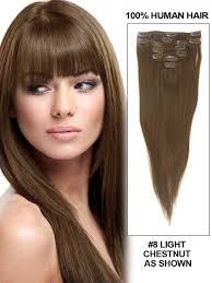 best clip in hair extensions chestnut light brown hair color clip in hair extensions best human