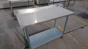 used stainless steel tables for sale used stainless steel table 120cmw x 60cmd x 91cmh h2 catering