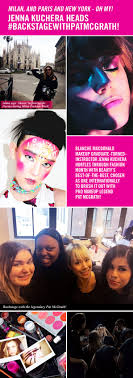 top makeup schools in nyc adventures with pat mcgrath blanche macdonald makeup grad