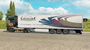 semi trailer truck trailer krone for euro truck simulator 2