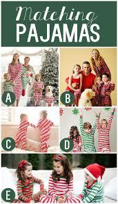 101 creative christmas card ideas matching christmas pajamas