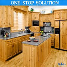 china made small solid wood kitchen cabinet with simple design