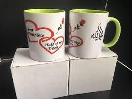 wedding gift husband islamic gift for husband wedding gift 2 mugs with