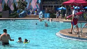 The Big Blue Pool at Disney s Art of Animation Resort 2015