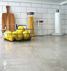 Diy Kitchen Countertop Ideas by Best 25 Concrete Countertops Over Laminate Ideas That You Will