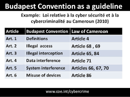 Council Of Europe Convention On Cybercrime Budapest Cto Cybersecurity Forum 2013 Seger Budapest Convention On C