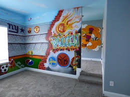 creative murals dallas murals blog dallas was contacted by frisco interior designer kimberly anne of kimberly anne interiors to help design and paint a graffiti bedroom mural for a boy s