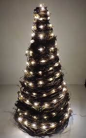 grapevine lighted tree 18 and handmade from