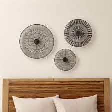 wall decor decorative metal disc wall metal disc wall