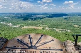 Rock City Gardens Lookout Mountain Ga Rock City Seven State View From Lookout Mountain Journeys With