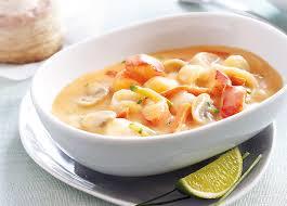 cuisiner homard surgelé garniture homard et st jacques pour bouchées surgelé gamme