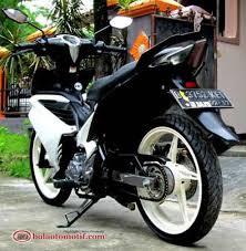 modifikasi drag jupiter z 2008 2014 modifikasi motor keren 2014 yamaha jupiter mx hitam putih modif simpel keren bolaotomotif Motor Jupiter mx