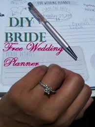 Wedding Planner Binder How To Make Your Own Wedding Planner Free Printables