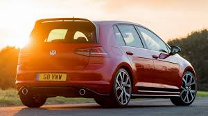 orange volkswagen gti volkswagen golf gti clubsport edition 40 5 door 2016 uk