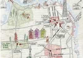 san francisco map sightseeing san francisco bike tours cool local adventures by bike